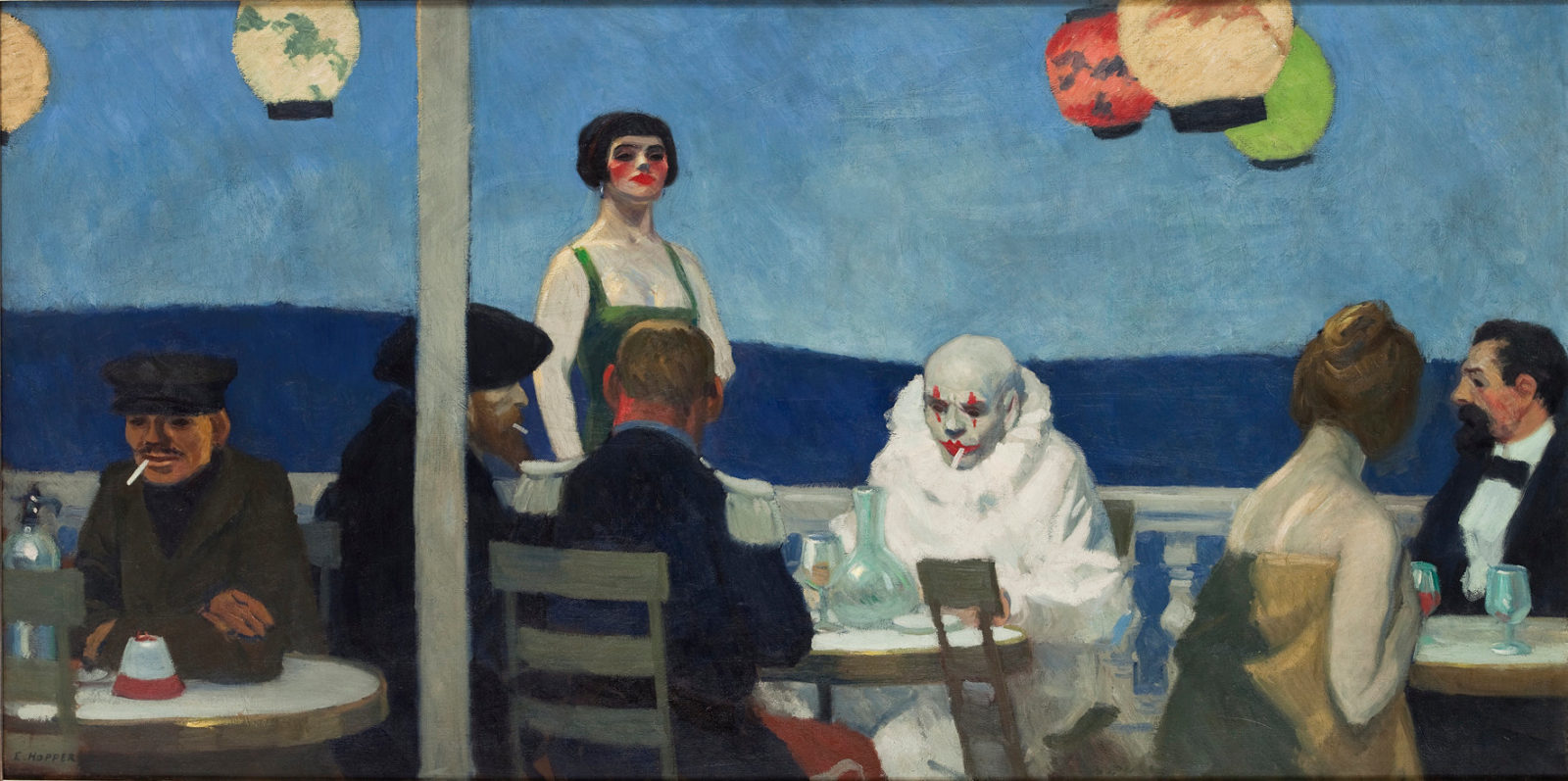 Edward Hopper, Soir Bleu (1914)