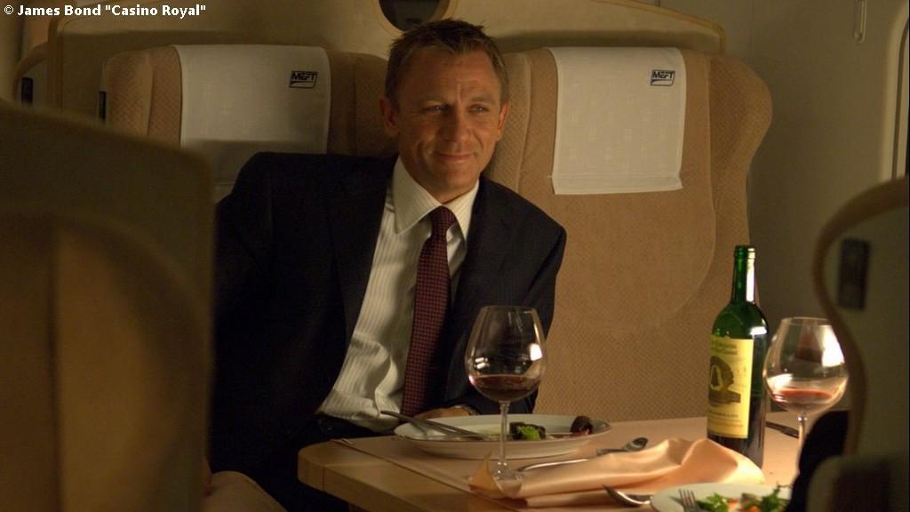 James Bond et le Château Angélus