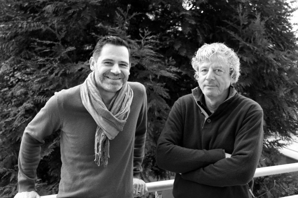 Jean-François Munnier et Jean Macqueron (Crédits : Pierre Monastier)