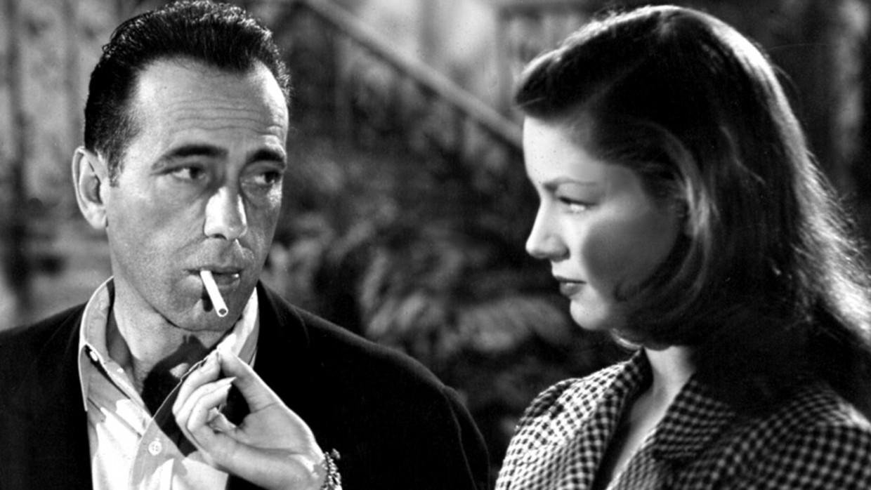 Humphrey Bogart et Lauren Bacall.