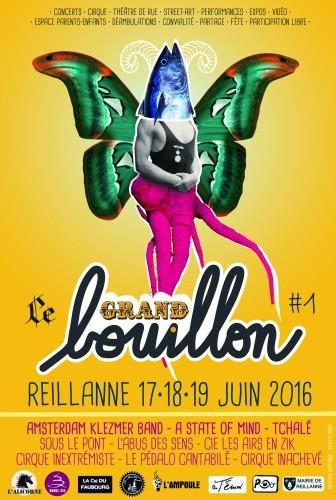 Affiche du 1er Grand Bouillon de Reillanne
