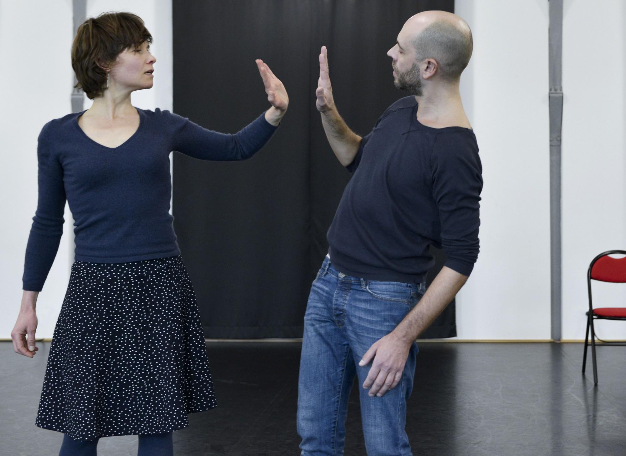 Gilles Verièpe & Ingrid Thobois (Crédits : Delphine Micheli)