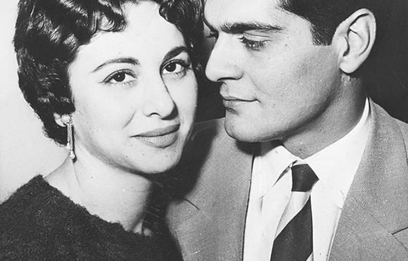 Faten Hamama et Omar Sharif