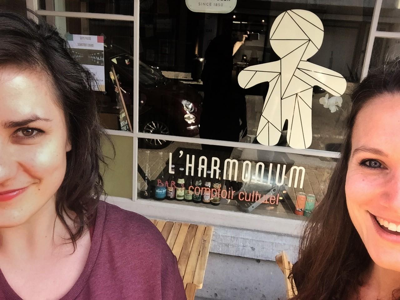 Florence Marais et Charlotte Toyoub (L'Harmonium)
