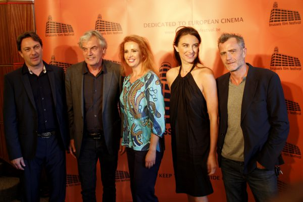 Ivan Corbiser et les membres du jury : Derek De Lint, Ivona Juka, Natali Broods et Pierre Dherte.