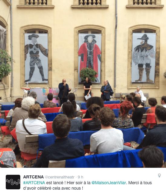 ARTCENA - Lancement