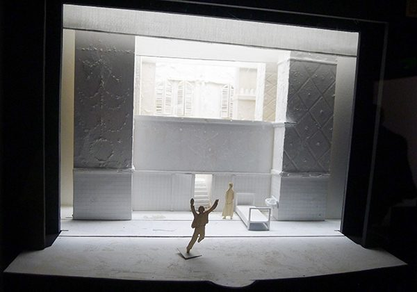 Maquette d'Éric Ruf - Roméo et Juliette (2015)