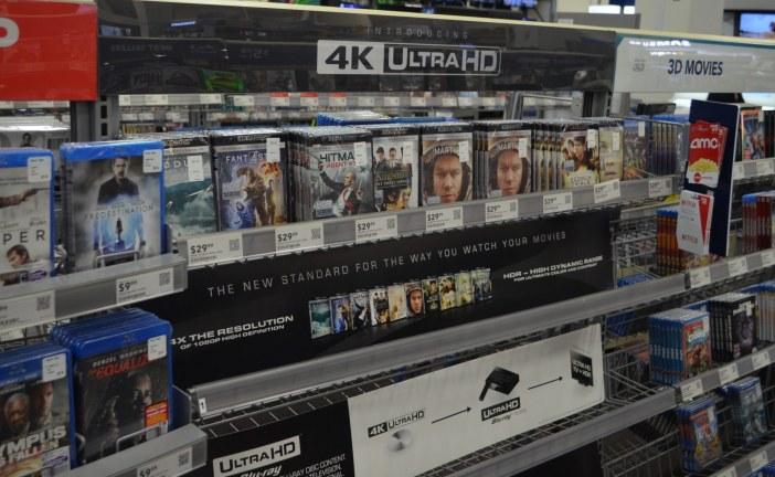 Le marché de la vidéo physique en chute libre !
