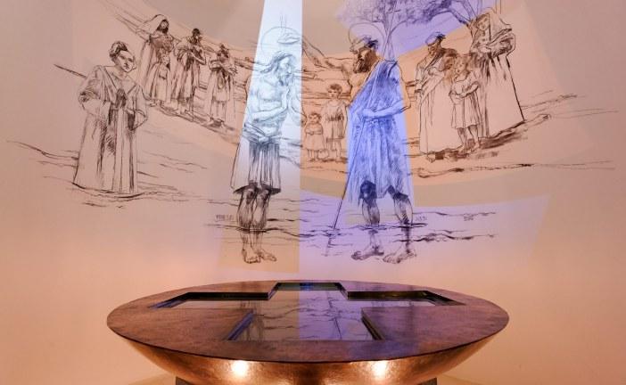 Une fresque numérique permanente dans une église de Paris : une première mondiale !