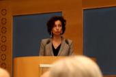 Audrey Azoulay défend sa candidature à l'Unesco