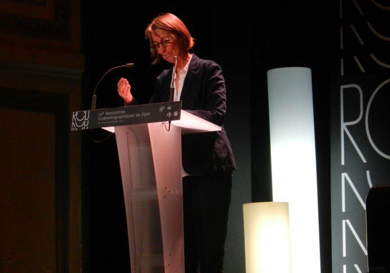 Françoise Nyssen (crédits : Morgane Macé / Profession Spectacle)