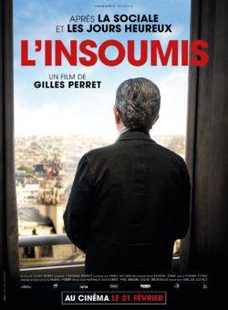 """Affiche de """"L'insoumis"""", film documentaire de Gilles Perret sur Jean-Luc Mélenchon"""