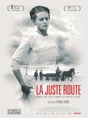 """Affiche de """"La juste route"""", film du réalisateur hongrois Ferenc Tökör"""
