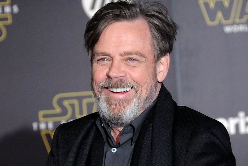 Mark Hamill, Luke Skywalker dans la mythique saga Star Wars  (Photo by Barry King/WireImage)