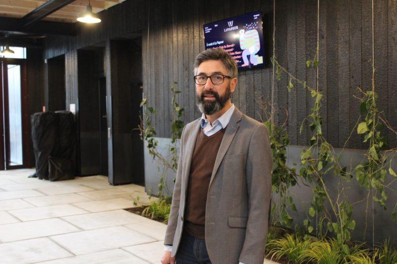 Yann Rivoal, directeur de La Vapeur, scène de musiques actuelles (SMAC) à Dijon en Bourgogne