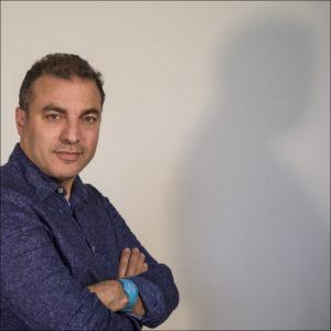 Sam Khebizi, directeur des Têtes de l'Art (crédits : Arnaud Brunet)