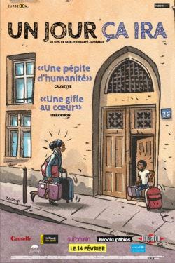 """Affiche de """"Un jour ça ira"""", film documentaire d'Édouard et Stan Zambeaux"""