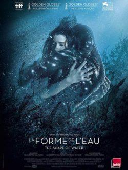 """Affiche de """"La forme de l'eau"""", film de Guillermo del Toro"""