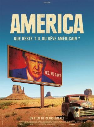 America, film documentaire de Claus Drexel (affiche)