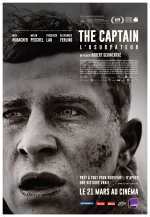 Robert Schwentke, The Captain - L'Usurpateur (affiche)