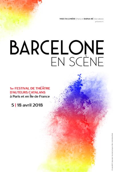 affiche barcelone en scene à paris theatre