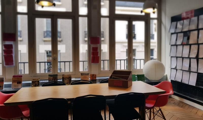 ARTCENA - espace de travail collectif (crédits : Sébastien Cotte)