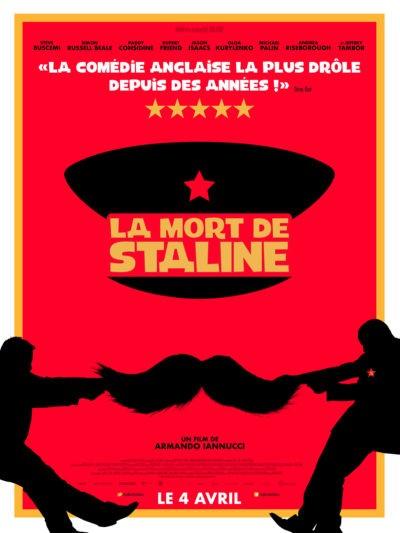 Armando Iannucci, La Mort de Staline (affiche)