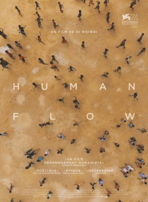 Human Flow, documentaire d'Ai Weiwei (affiche)