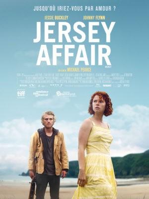 Michael Pearce, Jersey Affair, avec Jessie Buckley, Johnny Flynn (affiche)