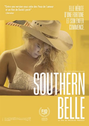 Southern Belle, film documentaire de Nicolas Peduzzi, avec Taelor Ranzau (affiche)