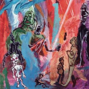 Pochette de l'album Goat Girl de Goat Girl