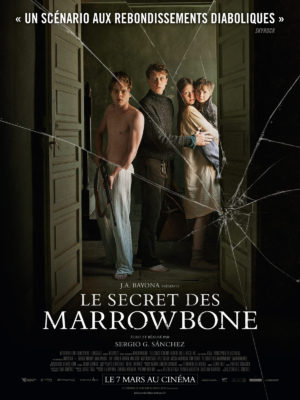 Sergio G Sanchez, Le Secret des Marrowbone (affiche)