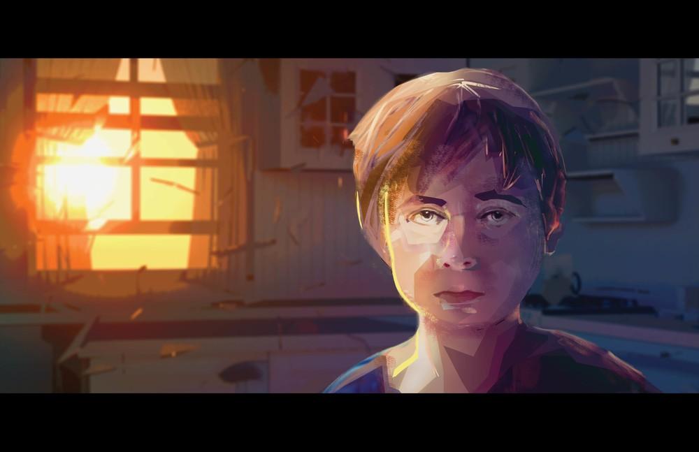 Une animation d'horreur pour dénoncer la violence contre femmes et enfants
