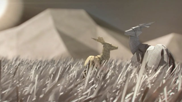 «Paper World», un superbe court-métrage avec origami pour WWF