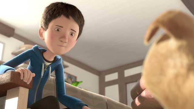 60 récompenses pour ce joli court-métrage d'animation sur l'apprentissage du handicap avec un chien