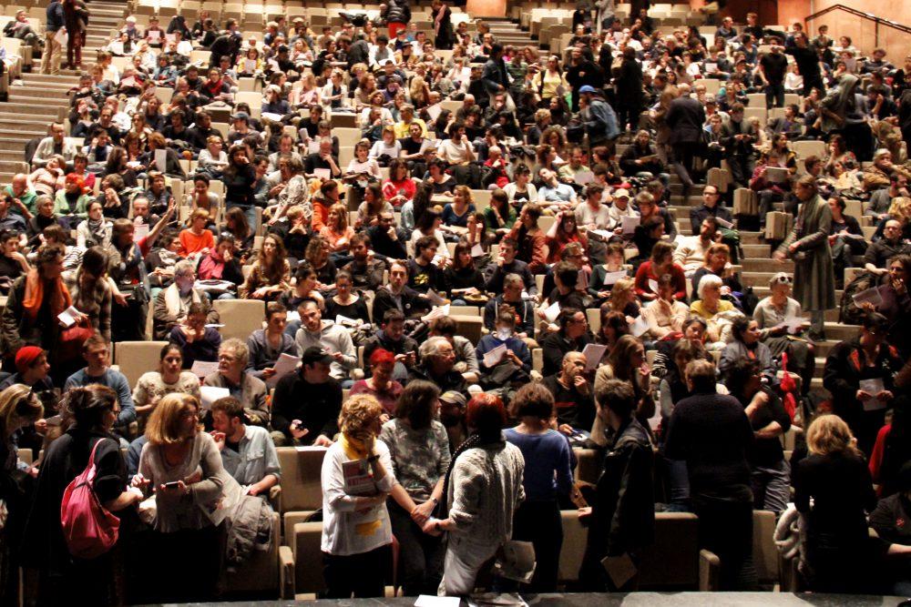 La CGT-Spectacle et la CIP-IdF appellent à la révolte et au blocage du pays