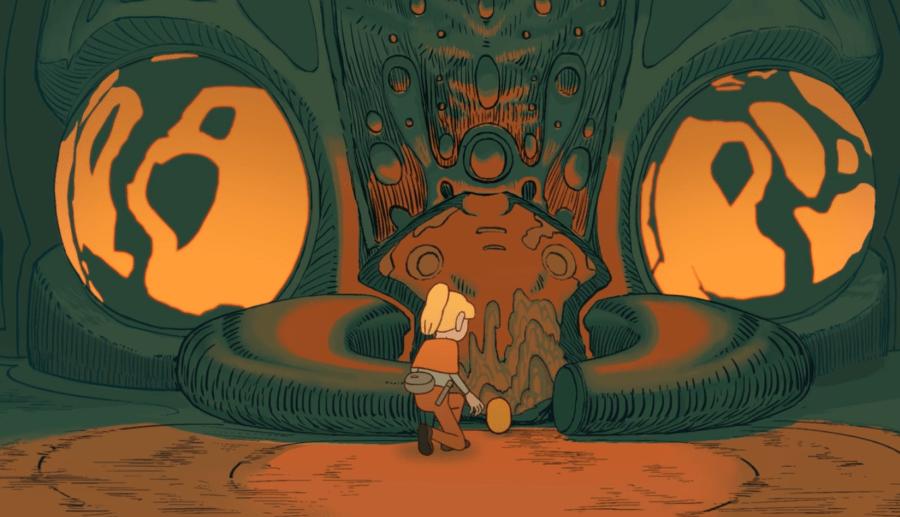 L'héroïque quête de Typha pour la vie : une jolie animation 2D du studio Monkey Eggs