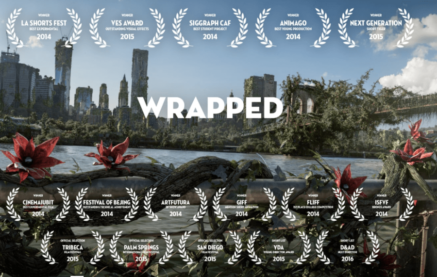 Sublime animation vidéo 3D sur l'éternelle question de l'homme face à la nature