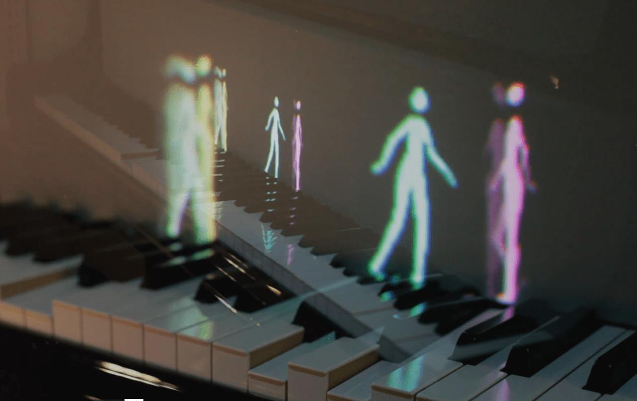 [Vidéo] Des personnages animés pour visualiser les notes et les émotions au piano