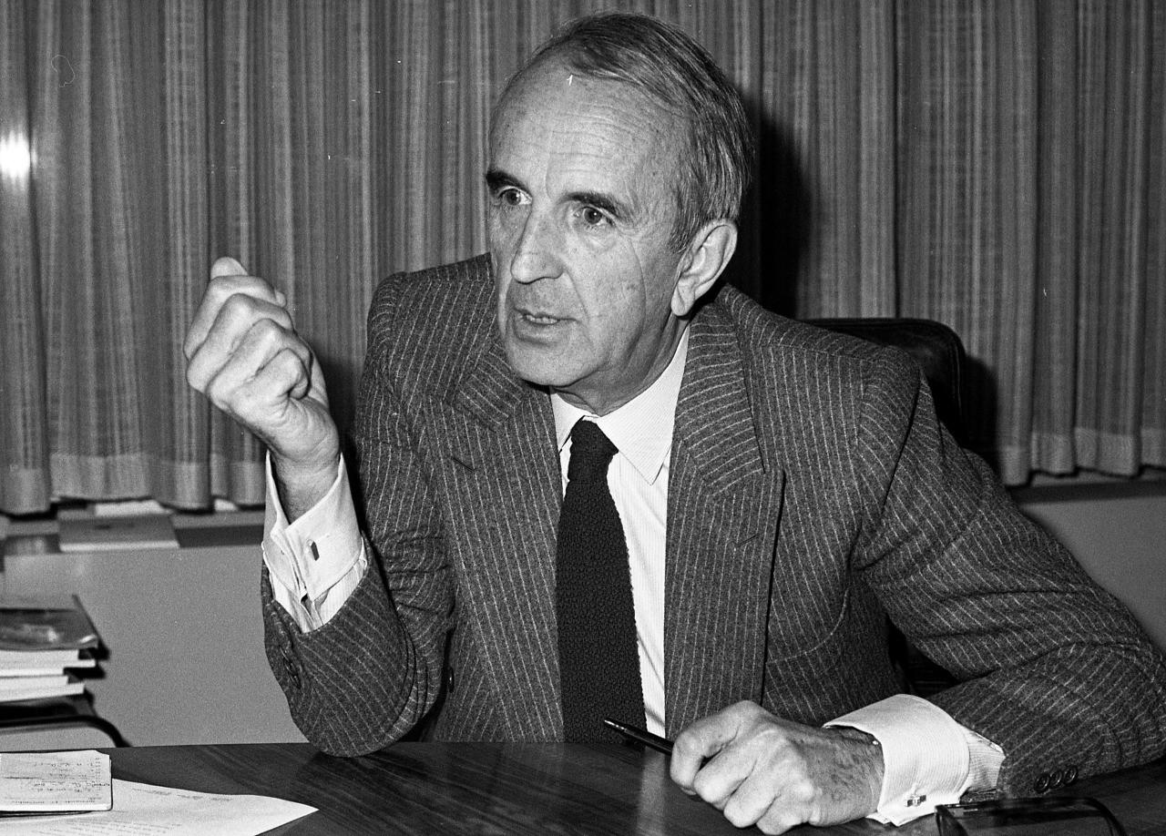 La fondateur de Canal+, André Rousselet, est mort hier (1922-2016)