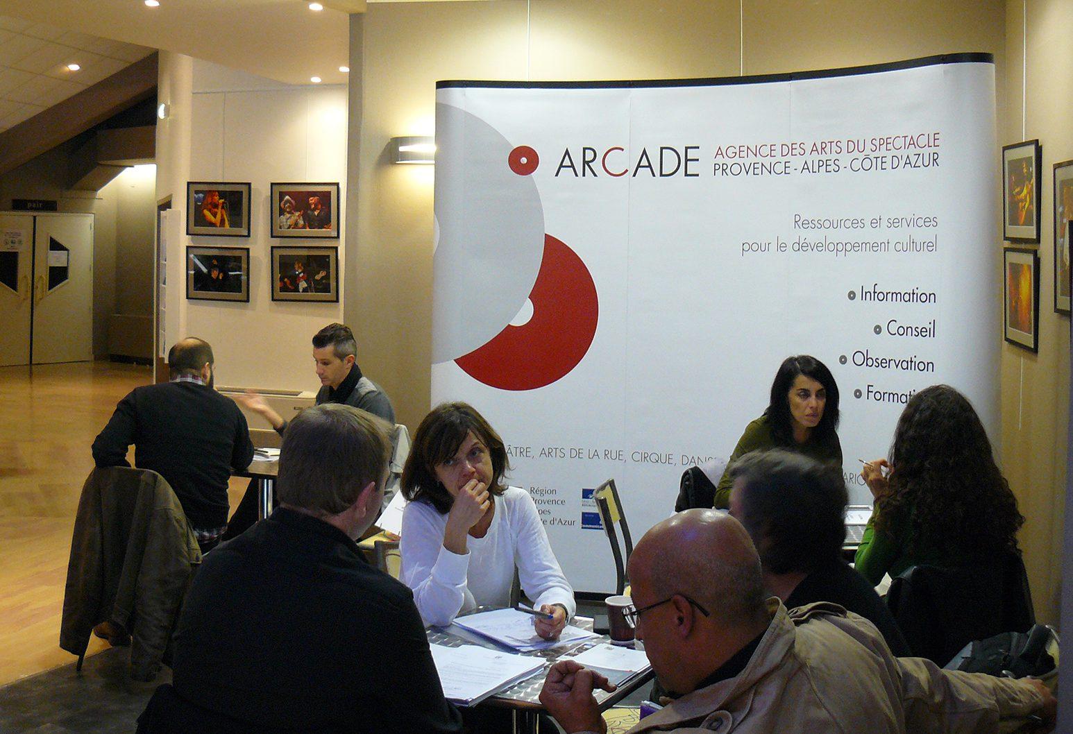 Avec l'Arcade Paca, les institutions culturelles sont à portée de projet!