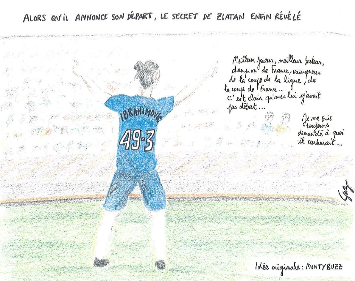 La goutte de Suz – Zlatan Ibrahimovic s'offre une Valls à 49.3 temps !