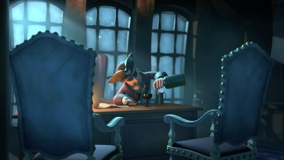 Animation vidéo – Un pirate solitaire hanté par tous ses membres