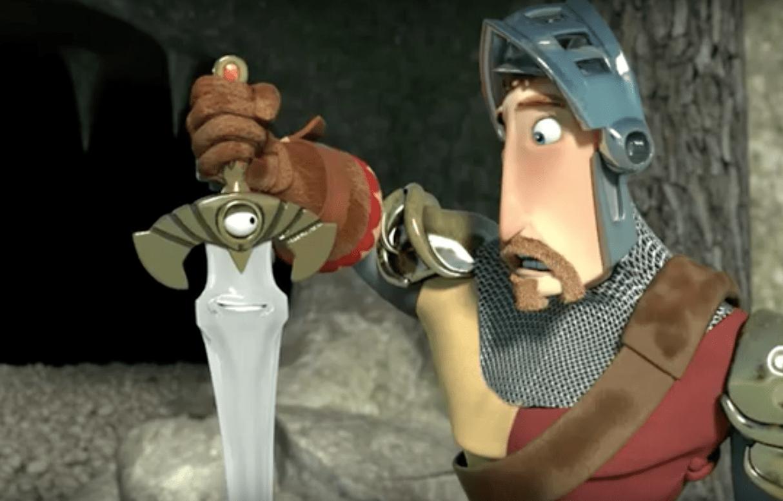 Un chevalier sans épée et sans musique, mais non sans peur selon cette amusante animation vidéo