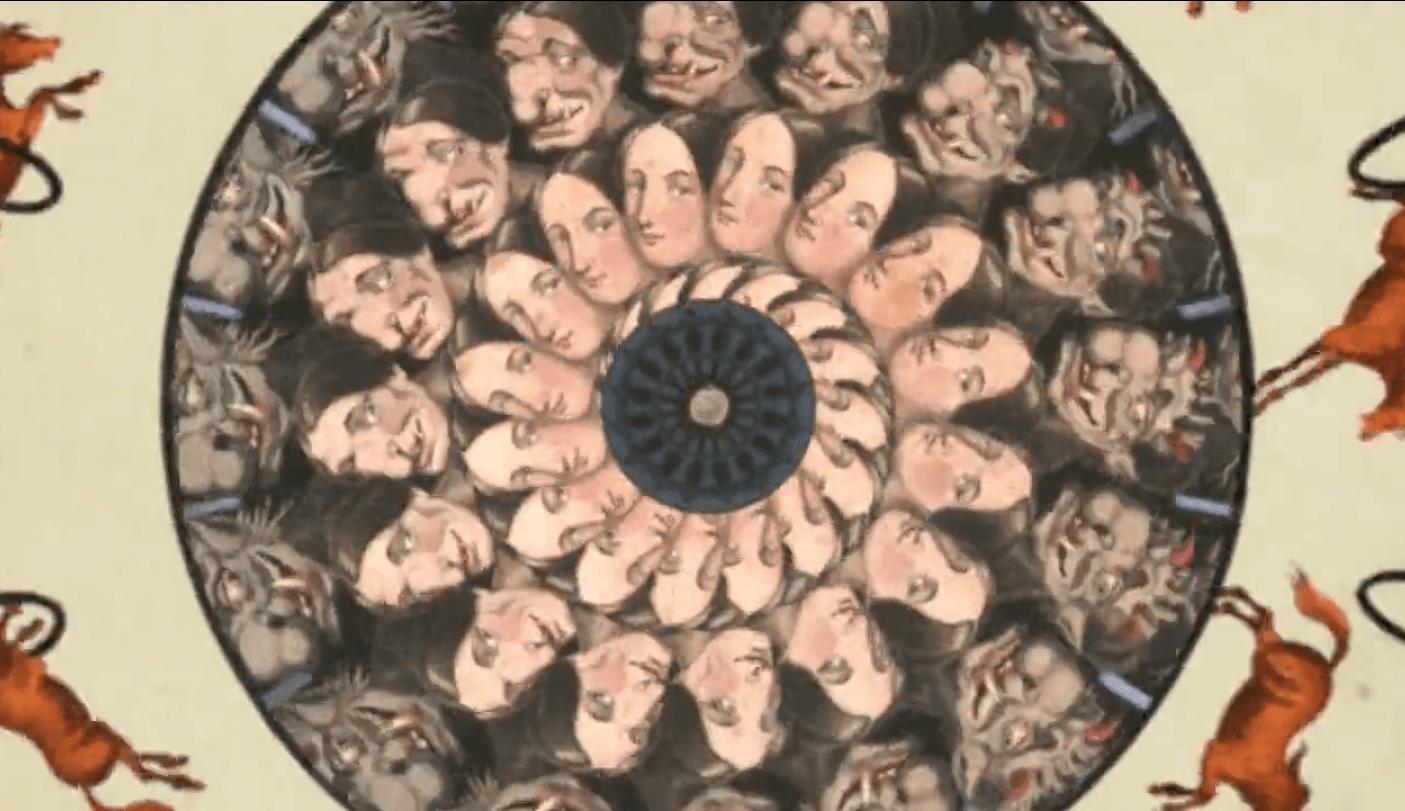 Animation fascinante et additive autour du phénakistiscope… du quoi ?