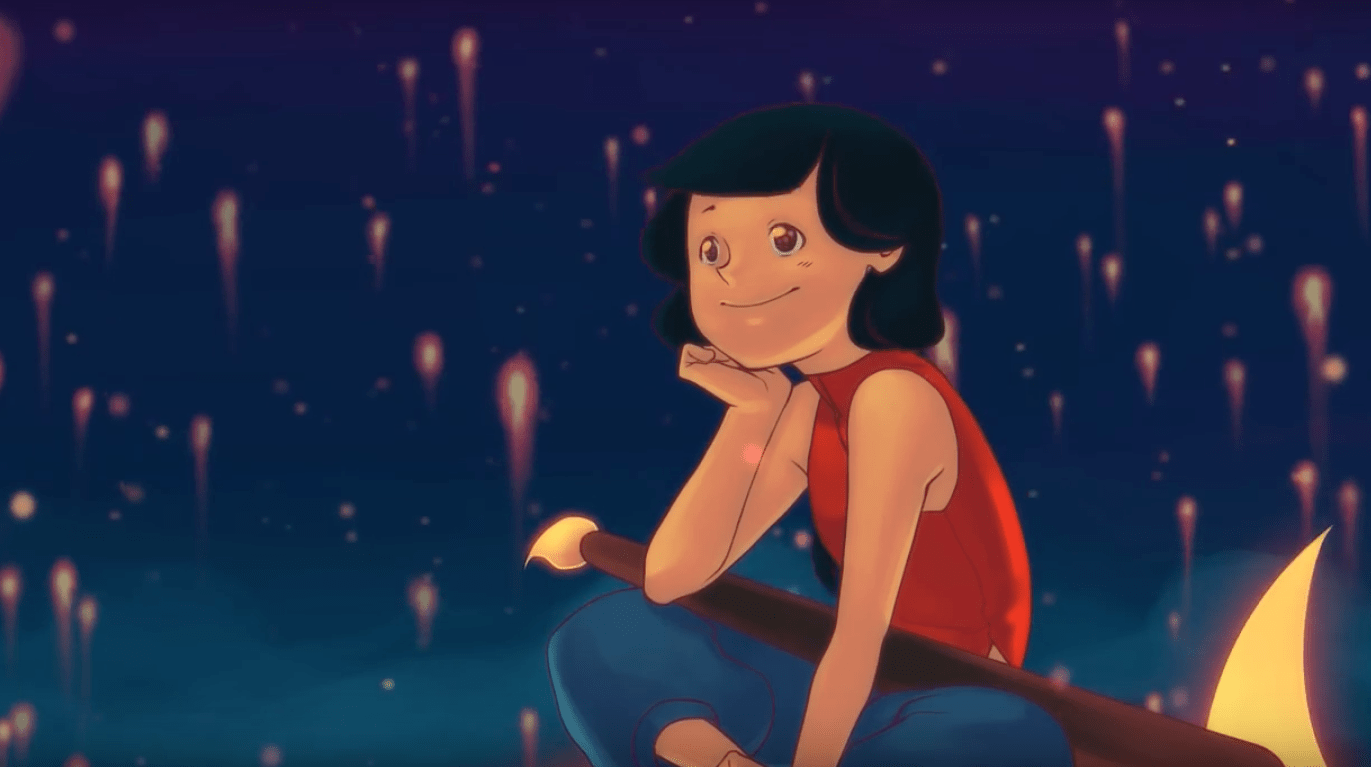 La lumière de la nuit ou le rêve de Qinni, artiste 2D prometteuse