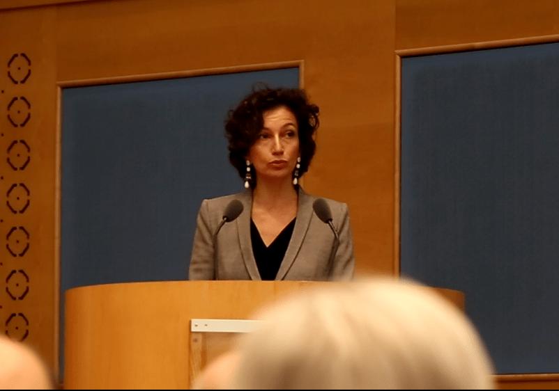 Audrey Azoulay : Les États-Unis ne sont «pas l'alpha et l'omega de l'Unesco»