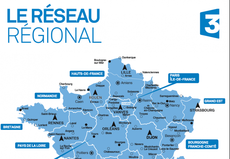 France 3 : une nouvelle organisation régionale pour une ambition éditoriale forte