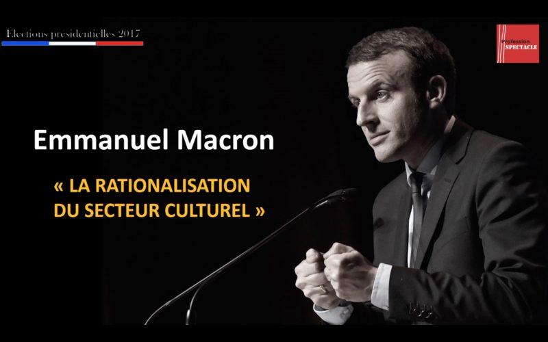 La culture selon… Emmanuel Macron