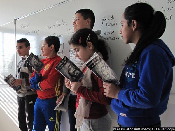 Prix Collidram – Près de 1 800 collégiens face à 4 textes de théâtre exigeants